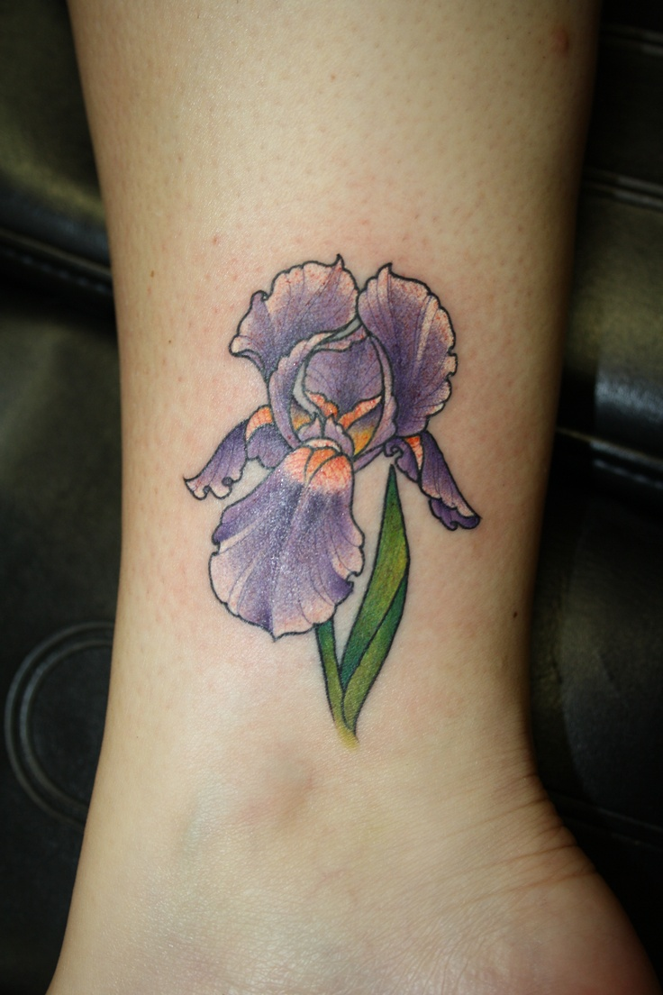 iris tattoo Inked Pinterest My mom, The flowers and