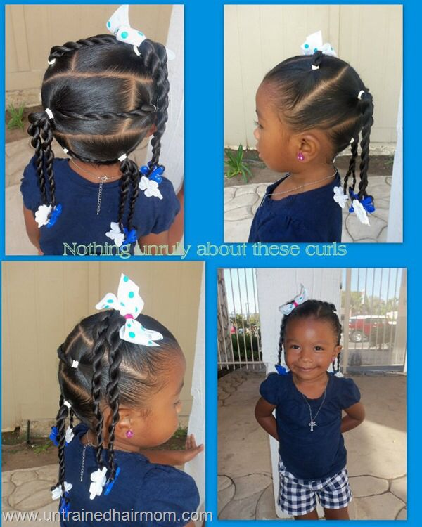 Hairstyle With Barrettes Hairstyles For Little Girls