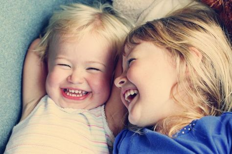 Sisters Giggling! :-)