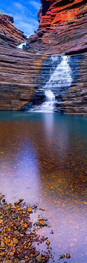 ✯ Joffrey Gorge - Karijini National Park, Australia: