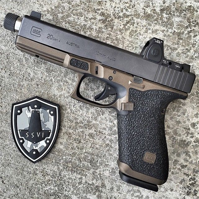 Shoot Keep Glock Calm And