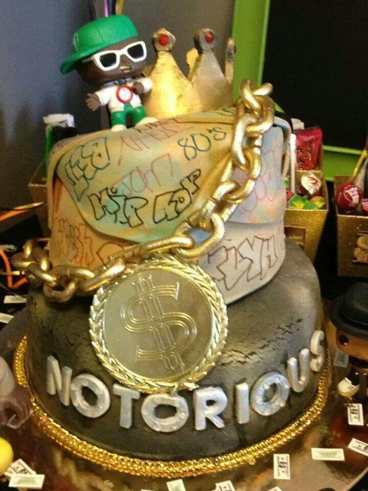 Hip hop cake hiphop party theme Pinterest We, Cakes