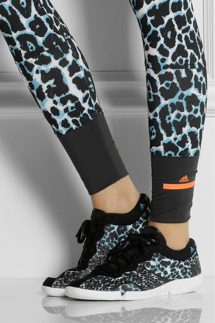 Adidas by Stella McCartney Ararauna Dance leopardprint