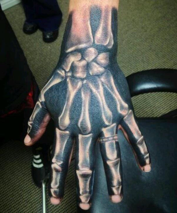 Done by Tommy Montoya. Skeleton, bones, black and white