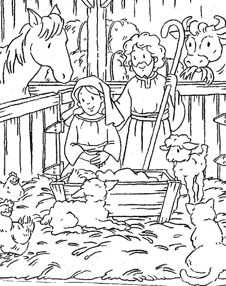 nativity christmas coloring christmas coloring for my
