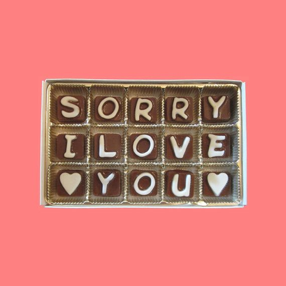 Apologize Gift Sorry Gift Woman Man Her Him Gift Apology