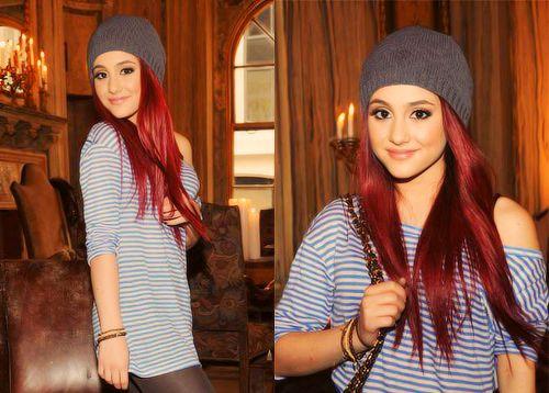 She Wears A Beanie Ariana Grande Pinterest Her