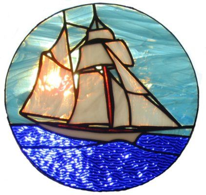 157 Best Images About Transportation Water Stained Glass On Pinterest Sailing Ships
