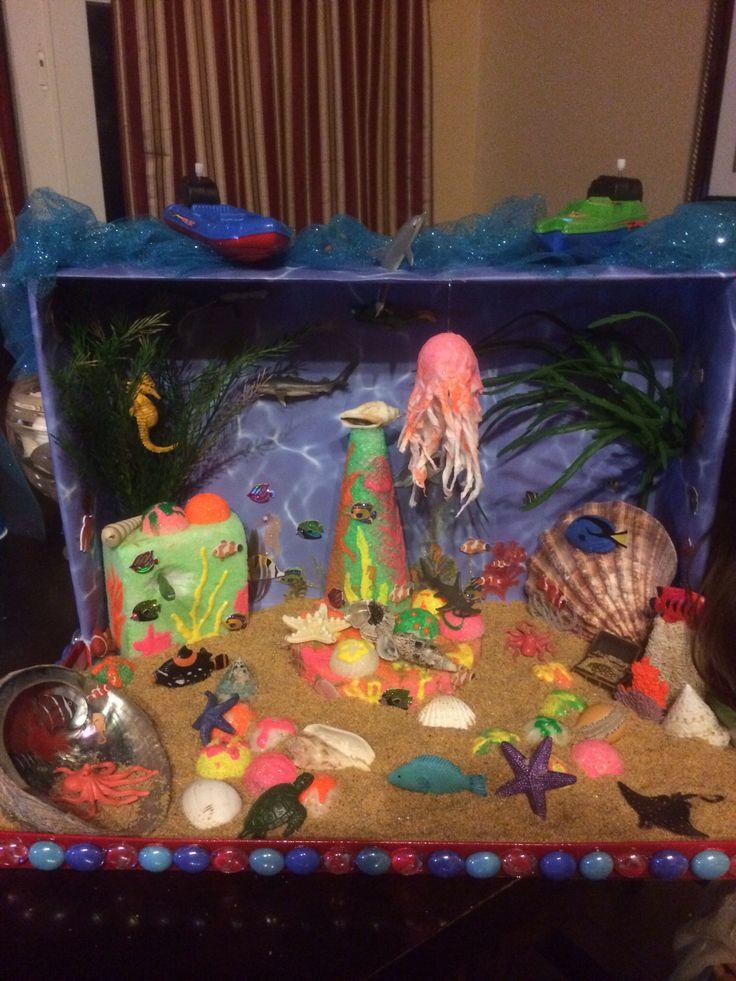 Ocean habitat project Education Pinterest Habitats