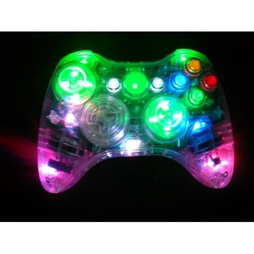 Color Changing LED Xbox 360 Modded Controller