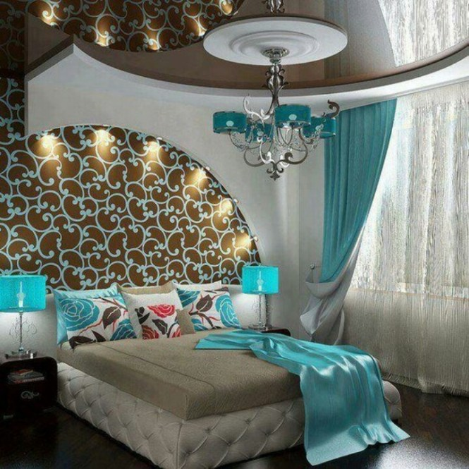 Tiffany Blue And Chocolate Bedroom 13 Best Images About On Pinterest Bed