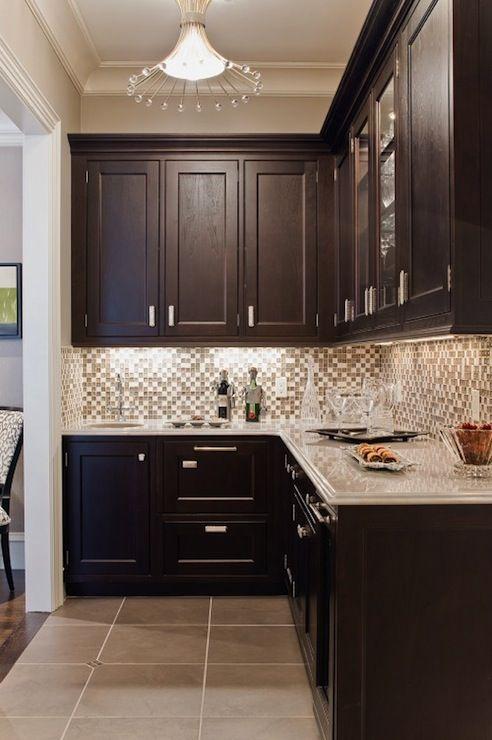 Best Color Hardware For Dark Cabinets. decoración de cocina ...