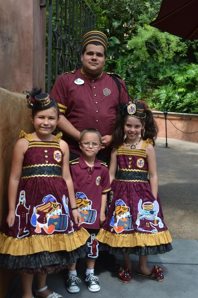 This mom makes her kids' costumes to match the Disney cast