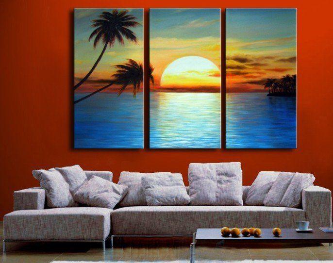 Best 25+ 3 Piece Canvas Art Ideas On Pinterest