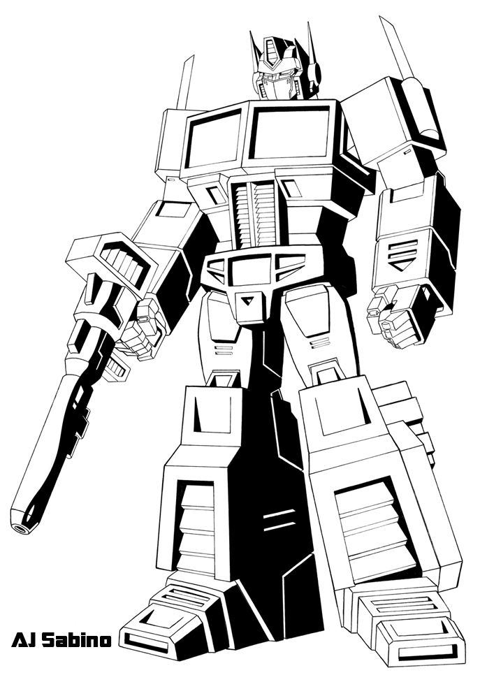 1000 images about transformers coloring pages on pinterest
