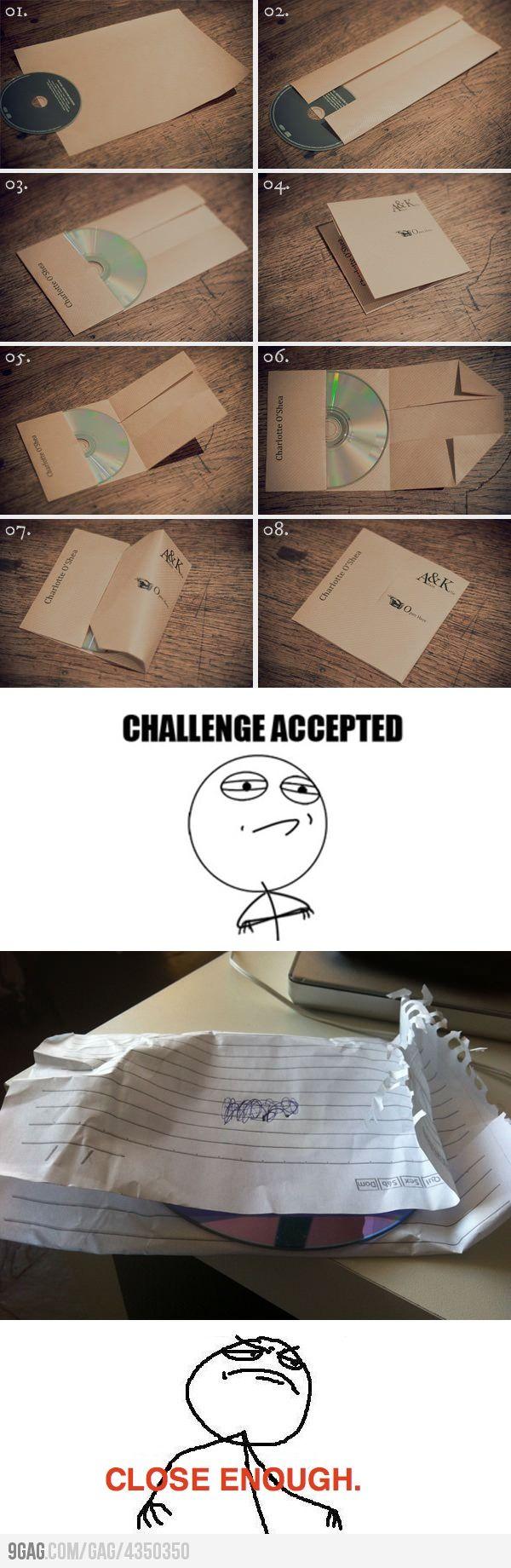 DIY CD Envelope