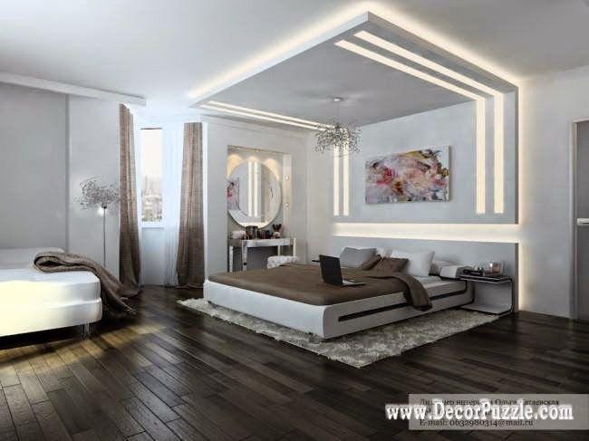 Plasterboard Ceiling Designs For Bedroom Pop Design 2017 With Lighting