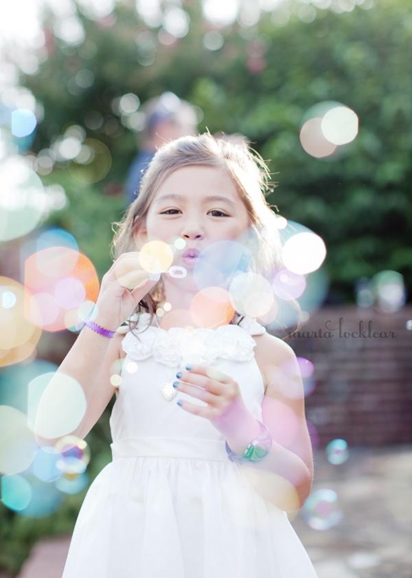 Kids Wedding Bubbles