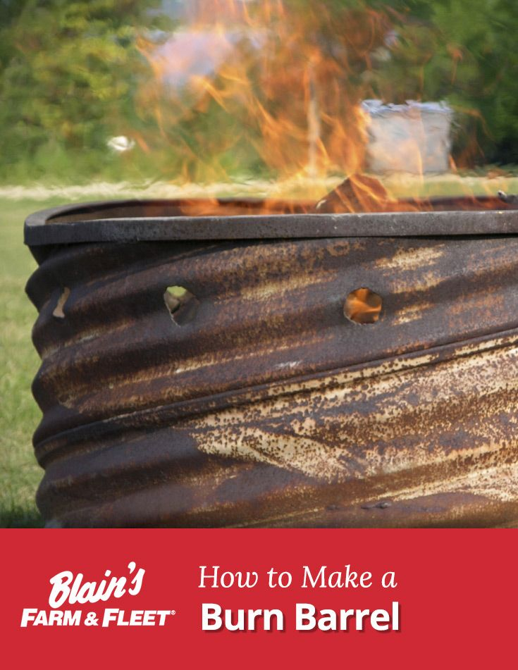 How to make a burn barrel simple make your and make