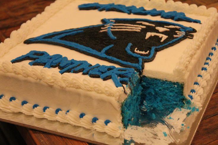 Carolina Panthers Cake Birthday Ideas For The Boys