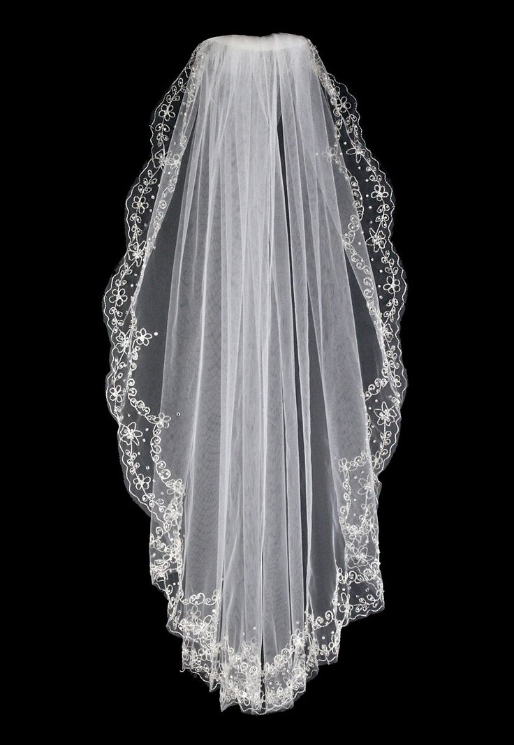 56 Best Images About Waist Length Bridal Veils On