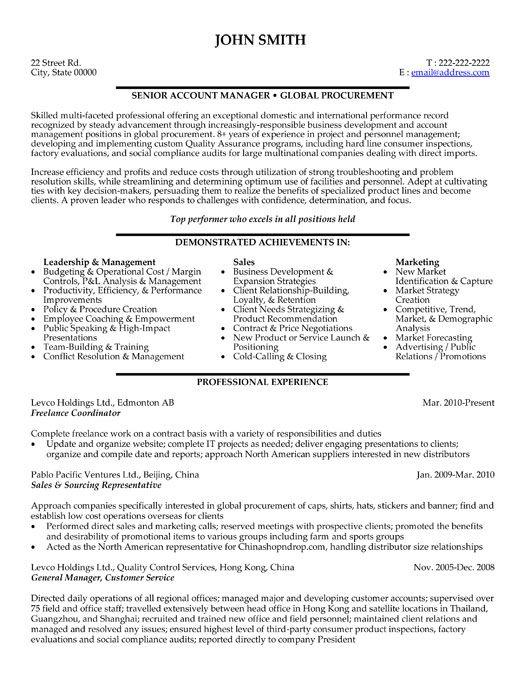 project coordinator resume summary