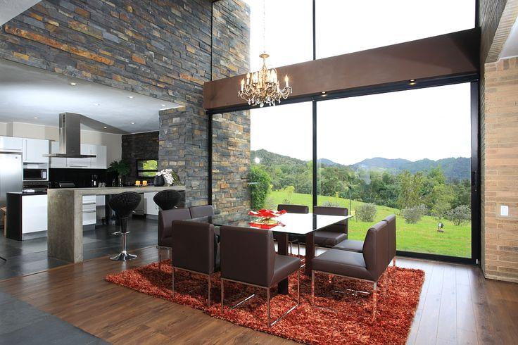 Bogota, La Calera. Espectacular casa campestre moderna de ...