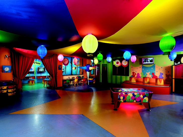Kids Club at the Moon Palace Family Resort located in
