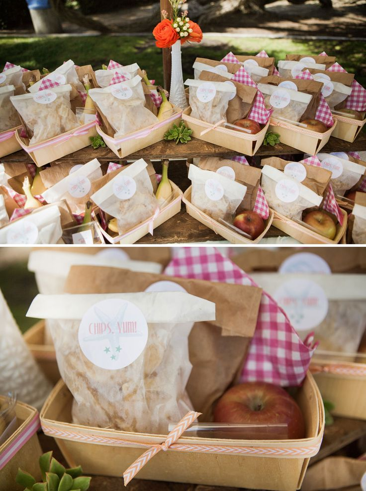 "Love the idea of ""prepackaged"" food trays. Baby Shower"