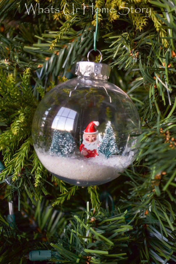 Snow Globe Ornament Ornaments, Globes and Snow