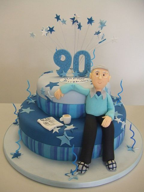 Image Result For 90th Birthday Cake For Men Cake