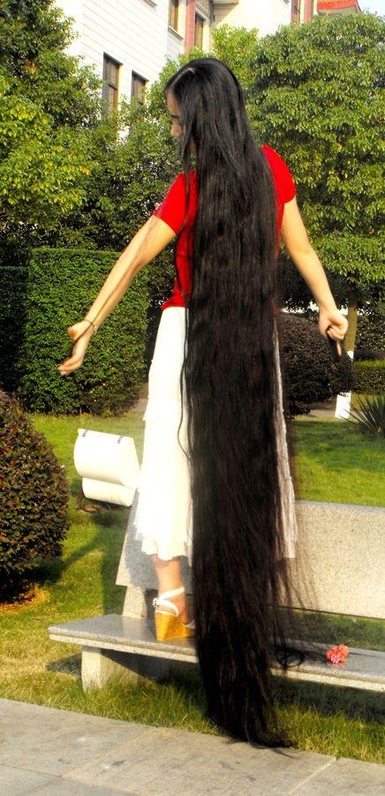 Feng Ye Longer Hair Then Floorlenght China LongHair