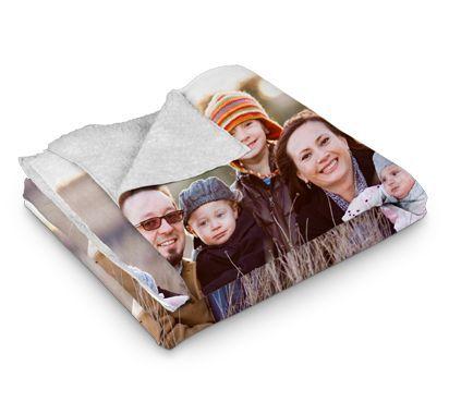 Photo Sherpa Fleece Blanket Walgreens Photo Gift Ideas