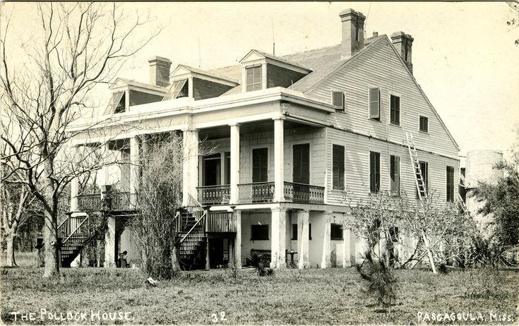Pollock/ Longfellow House Pascagoula, Ms Southern