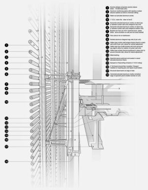 Architectural Technology V  Unitized Trombe Curtain Wall