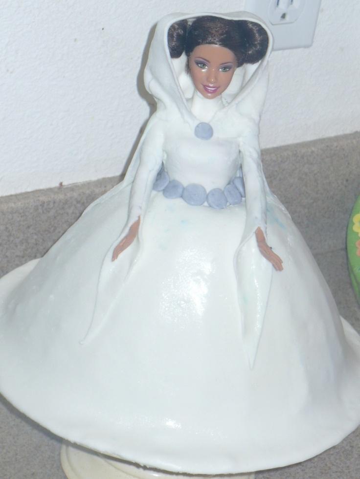 Princess Leia Cake Star Wars Party Ideas Pinterest