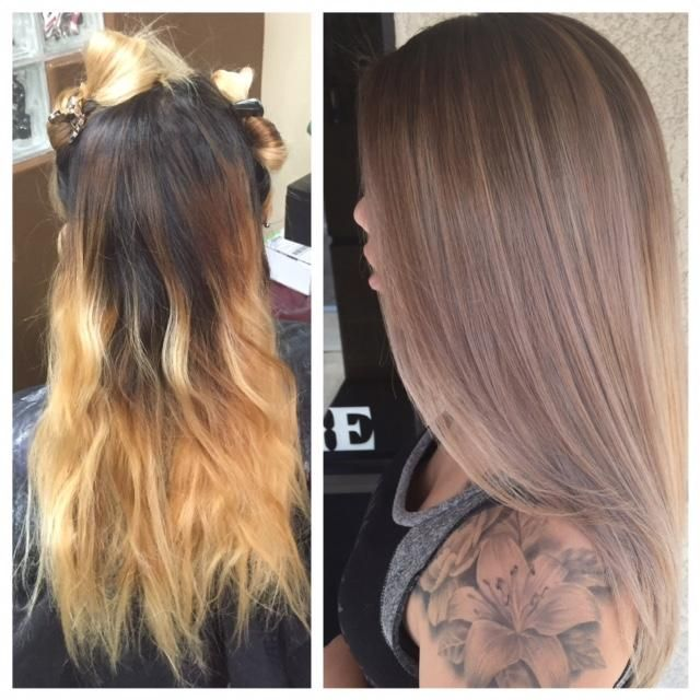 THE FIX Home Bleach Job To Pro Sombre Career Ash