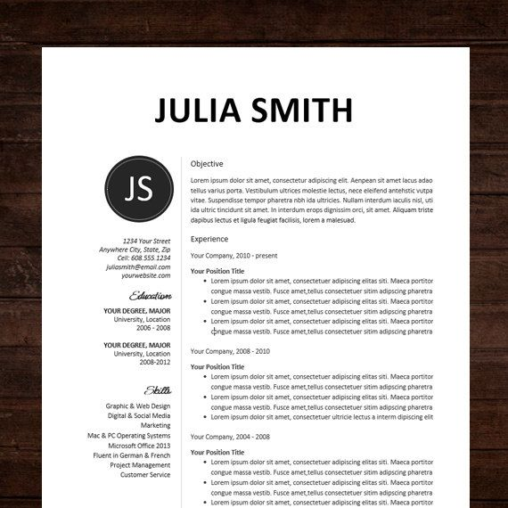 Resume Format Pinterest 1000 images about cv designs on pinterest resume templates