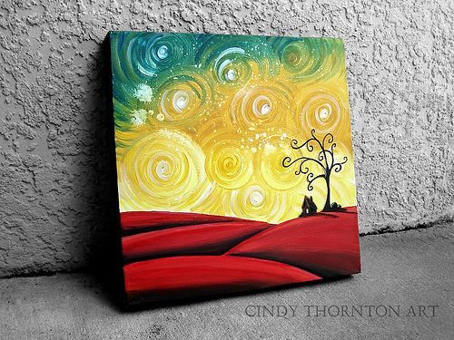 Image Result For Acrylic Canvas Painting Ideas For Beginners