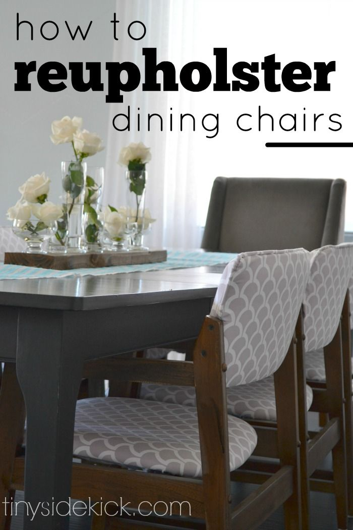 Diy Dining Chair Slipcover No Sew WoodWorking Projects