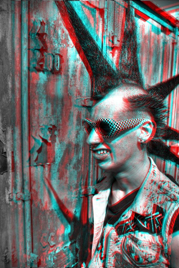 Stereoscopic 3D Effect with Anaglyph Images Put your 3D