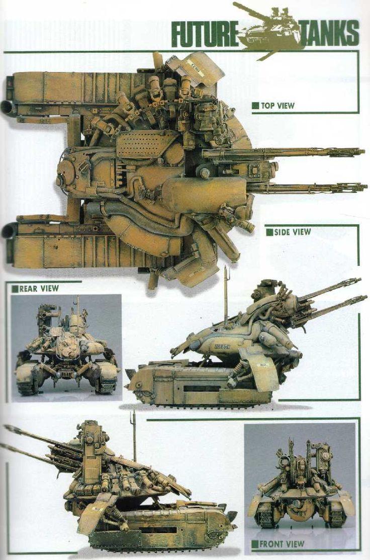 Rocketumblr (小林誠 Future Tanks) Maschinen Krieger