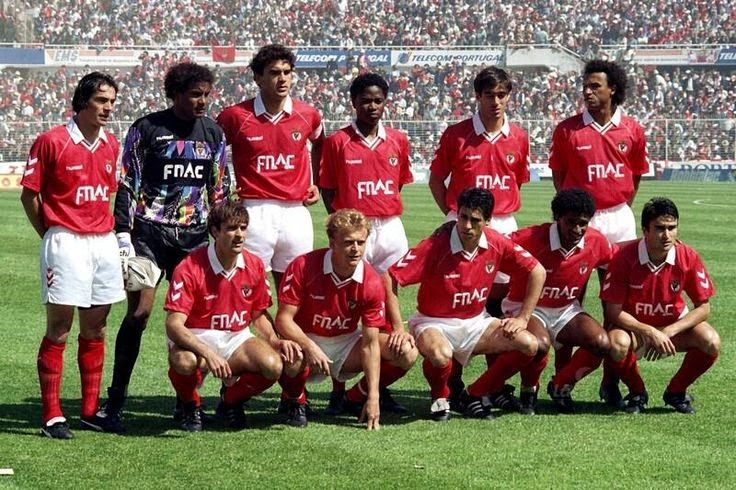 A Bola Indígena Benfica 19901991 S.L.BENFICA