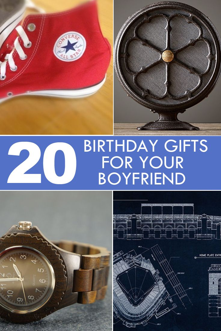 20 birthday gifts for your boyfriend, or other man in your