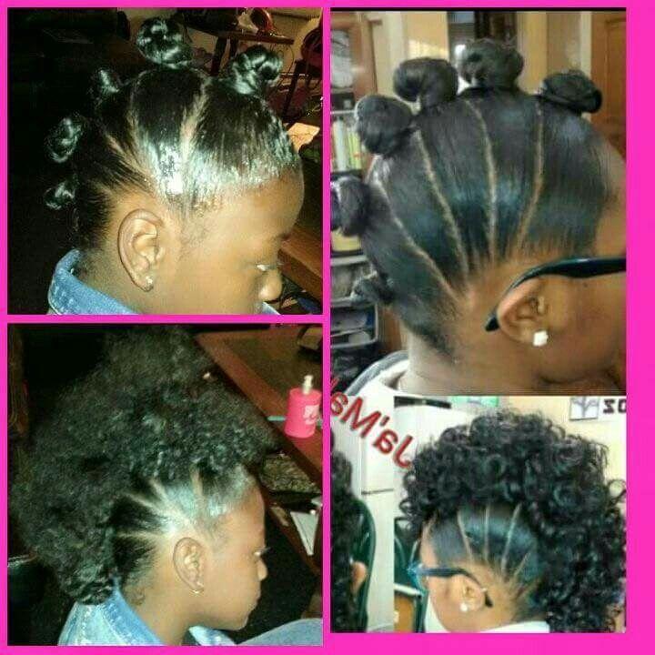 Mohawk W Bantu Knotout Natural Hair Pinterest