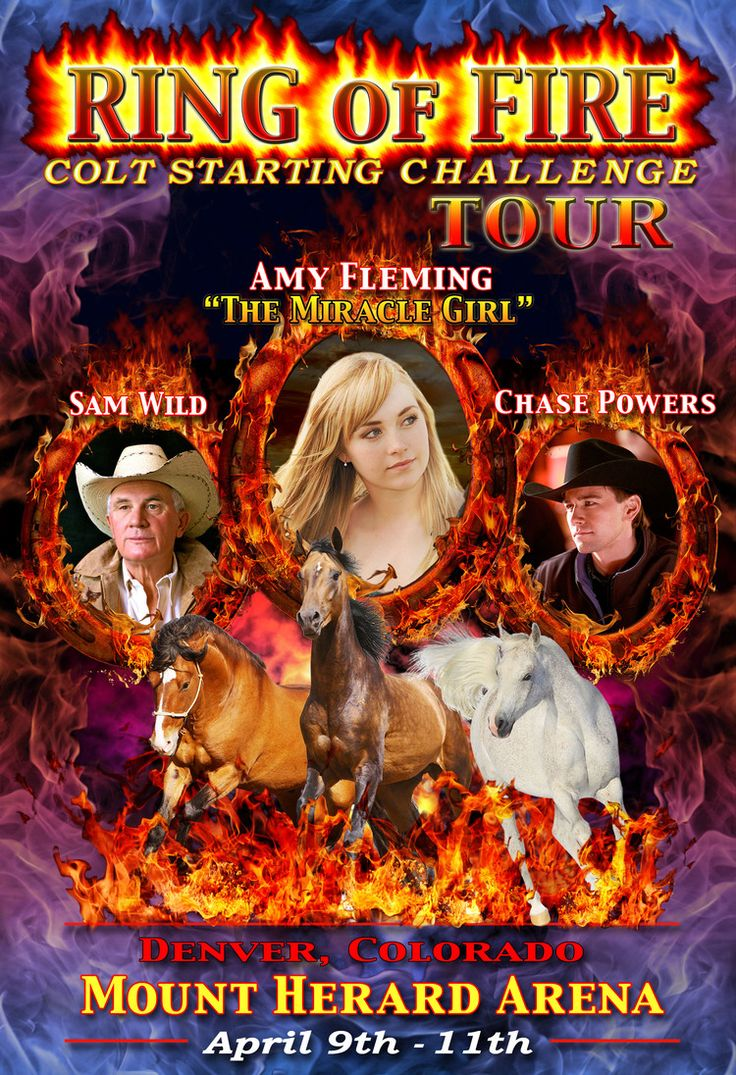 Ring Of Fire Poster (Amy Chase Sam) Heartland