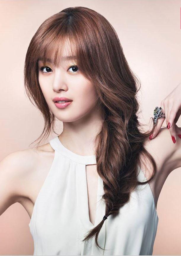 Kpop Artist Secret Sunhwa Braided Wavy Locks Korean