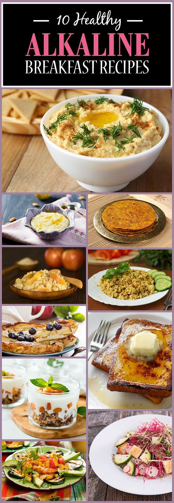 10 Healthy Alkaline Breakfast Recipes You Must Try