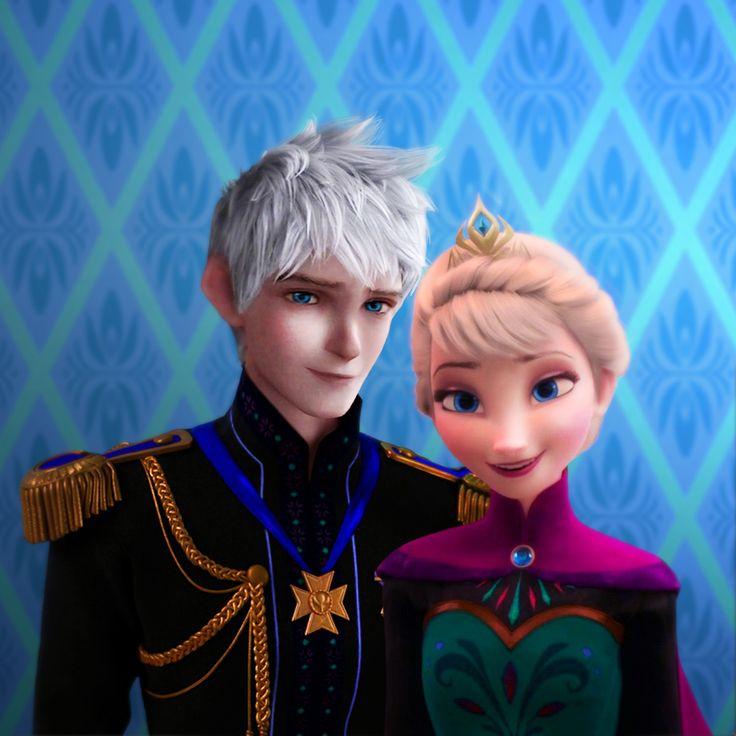 Queen Elsa and Jack