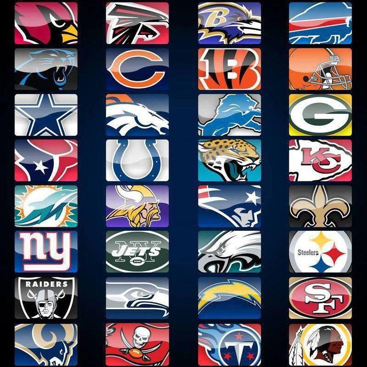 NFL team logos Sports Pinterest More best Logos